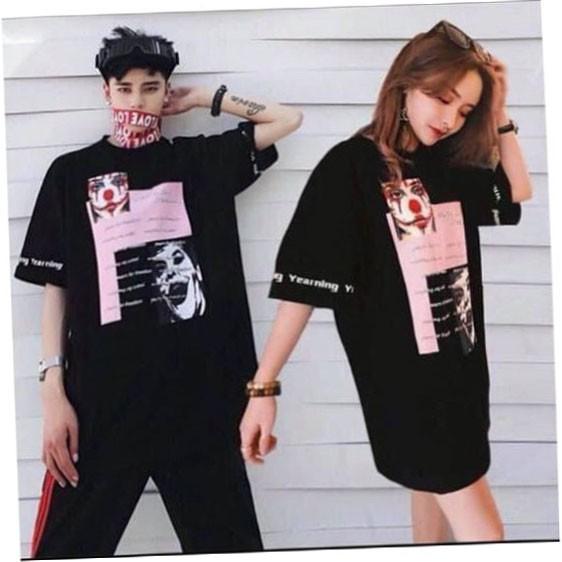 [SIÊU RẺ] Áo phông Hàn Quốc mặt hề Mã U80G8D