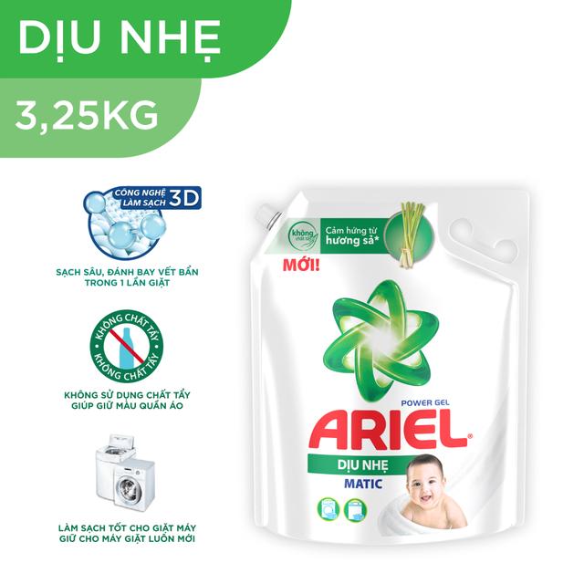Ariel Matic nước giặt Túi 3.6KG/3.25KG