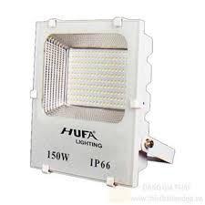 Đèn pha thân nhôm đúc màu trắng HUFA 100W, 150W, 200W
