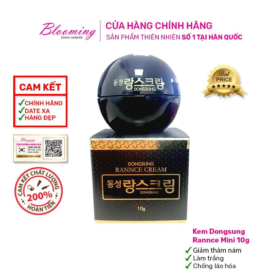 [Mini] Kem Dưỡng Trắng Da, Mờ Nám Chiết Xuất Từ Hoa Cúc La Mã DongSung Rannce Cream 10g