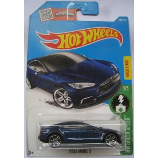 Xe mô hình Hot Wheels Tesla Model S DHT29