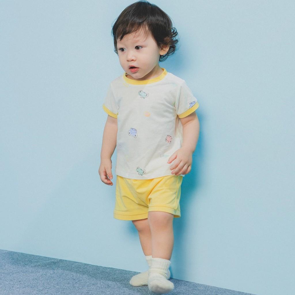 Bộ cộc cúc vai Lake chaang, quần áo trẻ em, phụ kiện, đồ sơ sinh hãng  Chaang chất liệu cotton an toàn cho bé tại Hà Nội