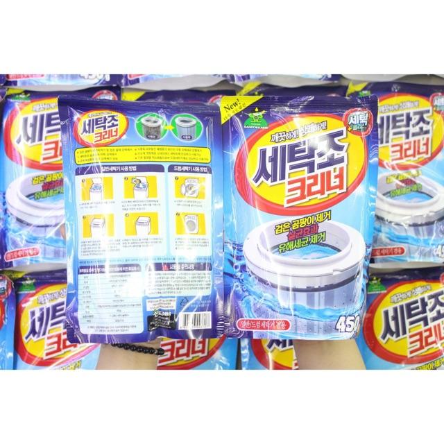 Bột tẩy vệ sinh lồng máy giặt Sandokkaebi - Hàn Quốc - 13598088 , 463436374 , 322_463436374 , 60000 , Bot-tay-ve-sinh-long-may-giat-Sandokkaebi-Han-Quoc-322_463436374 , shopee.vn , Bột tẩy vệ sinh lồng máy giặt Sandokkaebi - Hàn Quốc