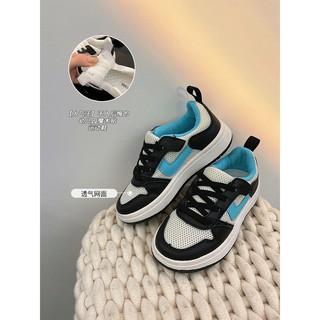 Giày Thể Thao Phối Lưới Thoáng Khí Thời Trang Cho Bé