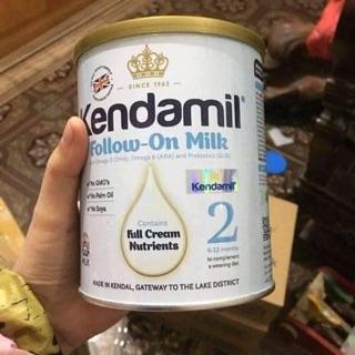 sữa kendamil số 2 900g hạn 11 2021