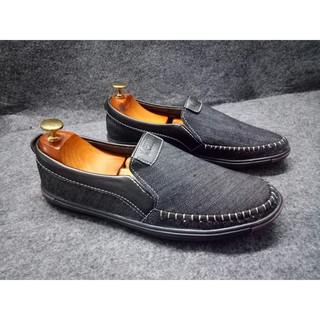 Giày lười nam - Giày nam vải bố cao cấp thumbnail