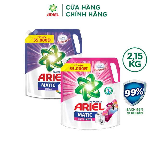 Ariel Matic nước giặt Túi 2.15kg