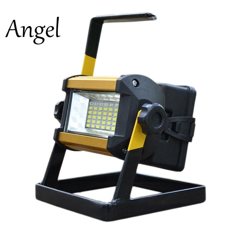 50W 36 LED Flood Light Spot Work Camping Fishing Lamp EU Plug