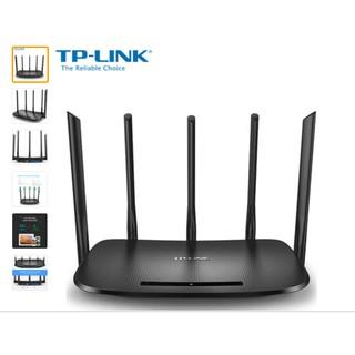 Bộ Phát TP-LINK Không Dây Wifi Router AC TL-WDR6500 2 Băng tần 5 Râu
