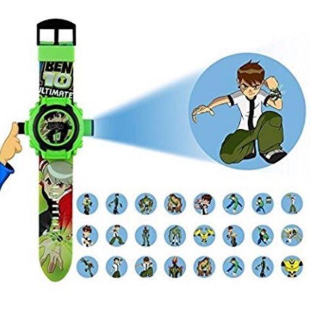 Đồng hồ Ben 10 chiếu hình nhân vật 3D siêu hot