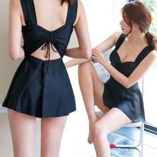 Hot Sales Đồ Bơi Nữ Bikini Áo Tắm 1 Mảnh Dạng Váy Kín Đáo Có Bigsize Cho Người Béo Mập 1 . Đẹp