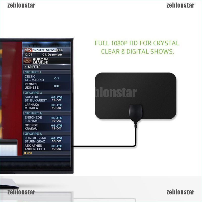 ❤star Ăng ten TV kỹ thuật số trong nhà tvfox VHF UHF DVB ▲▲