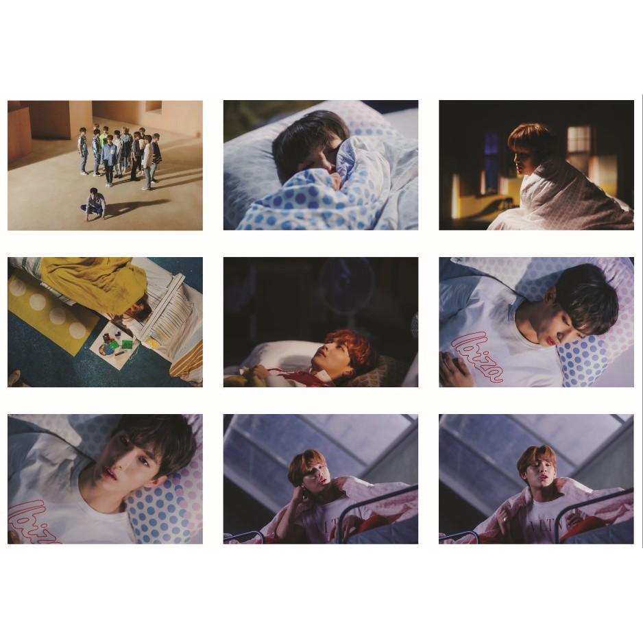 Lomo card ảnh nhóm SEVENTEEN MV OH MY full 63 ảnh