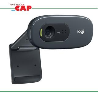 [Mã ELCLDEC giảm 7% đơn 500K] Webcam Học trực tuyến, Live Stream Học Online Dùng Cho Máy Tính, Laptop Logitech C270 HD