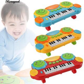 Đàn Piano đồ chơi có đèn và âm nhạc cho bé