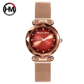Đồng hồ nữ HANNAH MARTIN chính hãng - Model hm-D9 - thép không gỉ - bảo hành 1 năm thumbnail