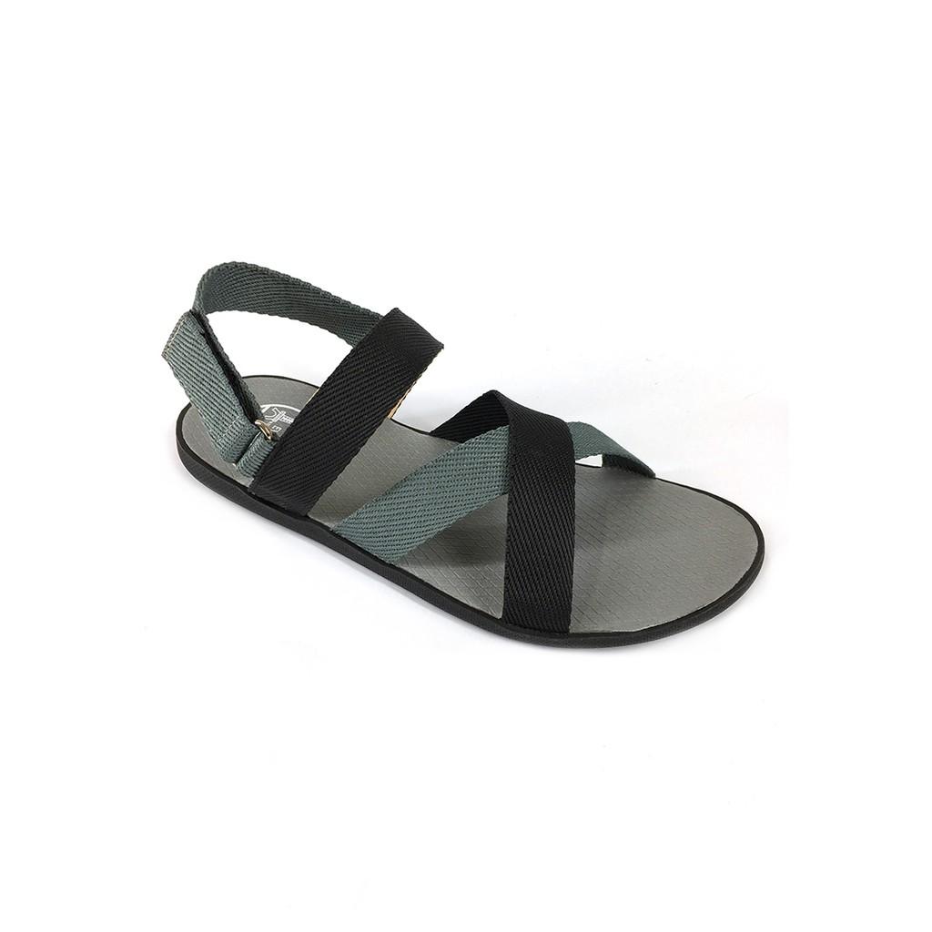 Giày sandal quai chéo phối màu trẻ trung A245 Evest