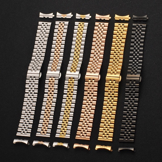 Dây đồng hồ inox đúc size 12mm 13mm 14mm 16mm 17mm size 18mm 19mm 20mm 21mm