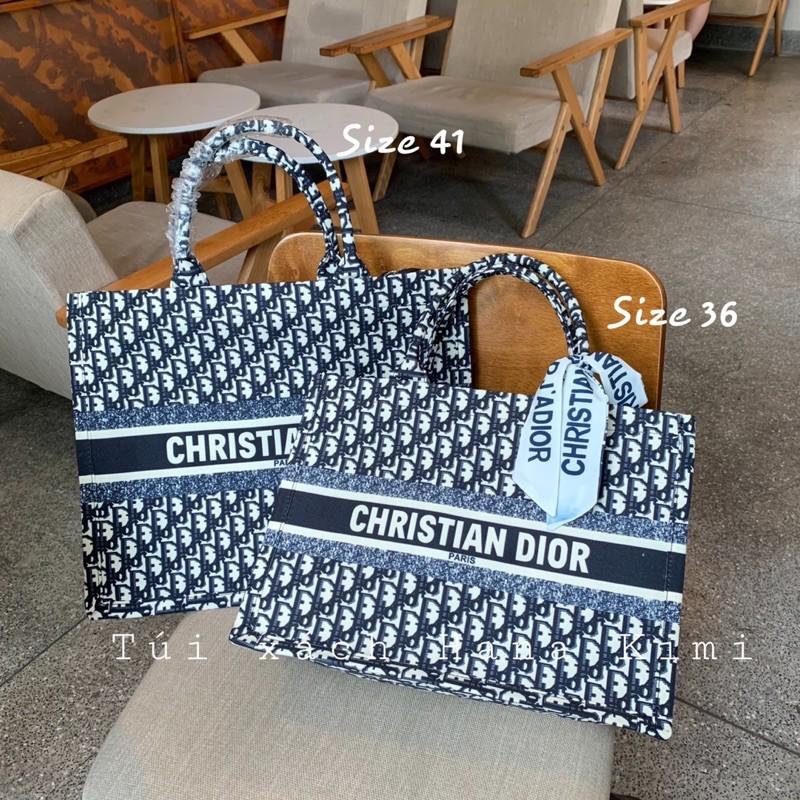 Túi xách D hot trend size 22-36-41 ( Tặng khăn thắt nơ)