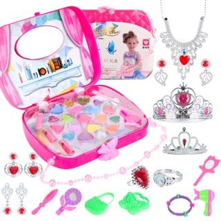 Bộ đồ chơi trang điểm công chúa cho bé gái( KHÔNG ĐỘC HẠI)