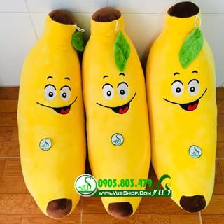 Gối ôm hình trái chuối biểu tượng cảm xúc loại lớn 90cm
