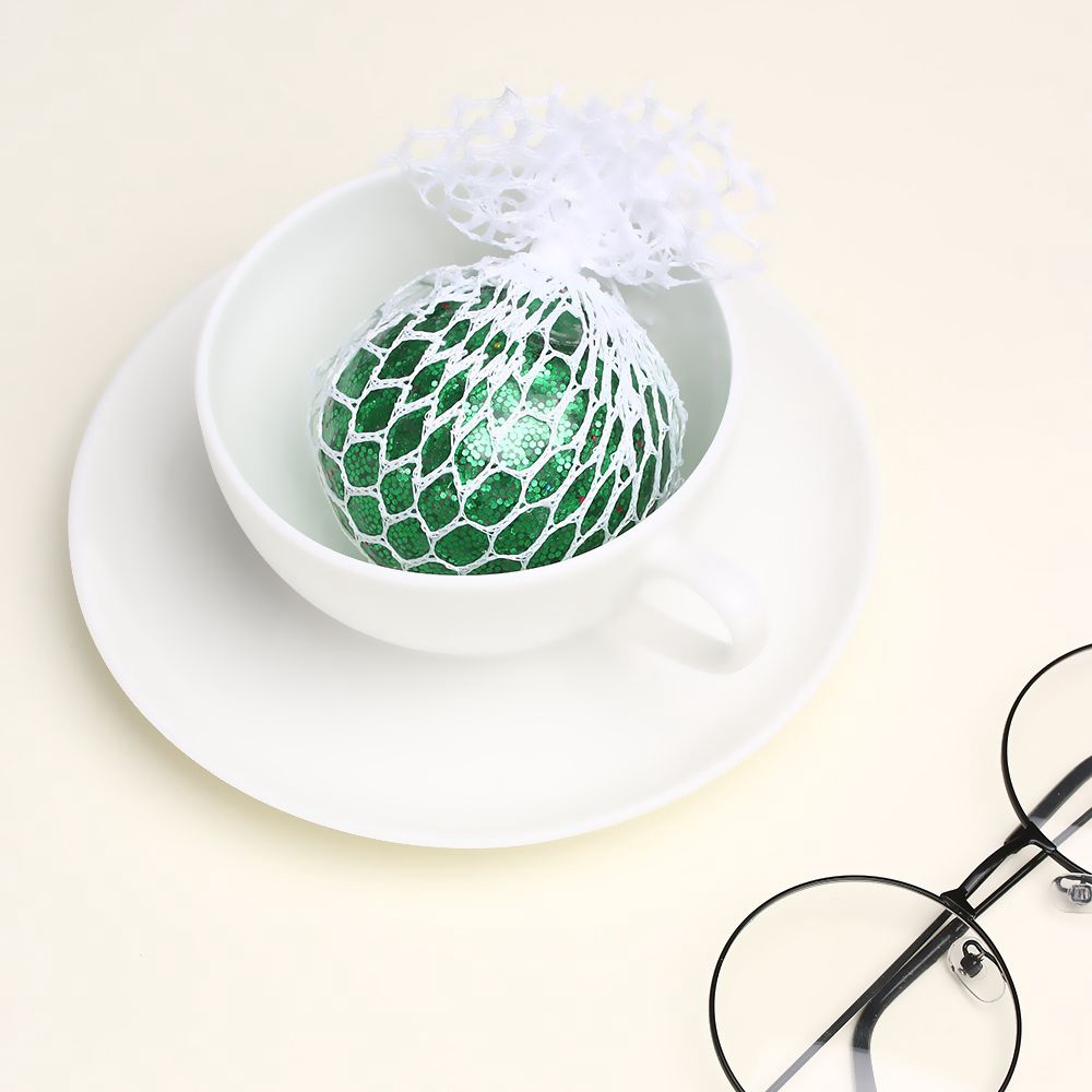 Stress Relief ADHD Autism Decompression Shinny Color|Dust Grape Ball