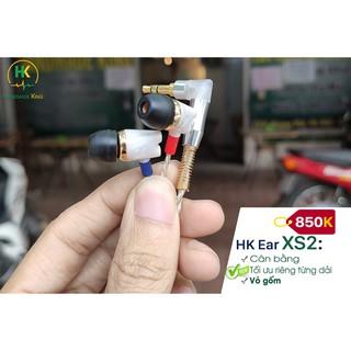 Tai nghe tự chế HK Ear XS2 - Cân bằng thumbnail