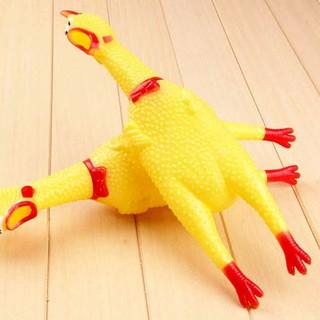 Gà đồ chơi,gà nhựa, gà cao su thumbnail