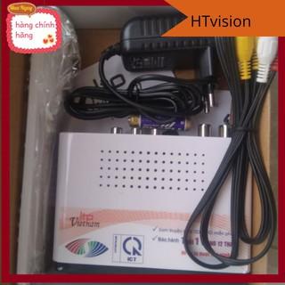 Combo đầu thu LTP 1306 kèm dây HDMI 1,5m Luffy xịn , và angten kèm 12 m dây