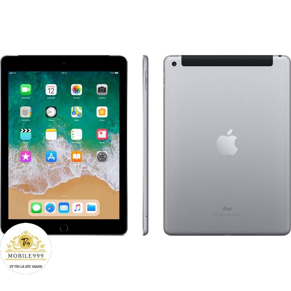 [Mã ELMT1M5 hoàn 6% đơn 1.5TR] Máy tính bảng iPad Gen 6 2018 - 32GB (Wifi + 4G) - Mới 99.99% - BH Chính Hãng Apple