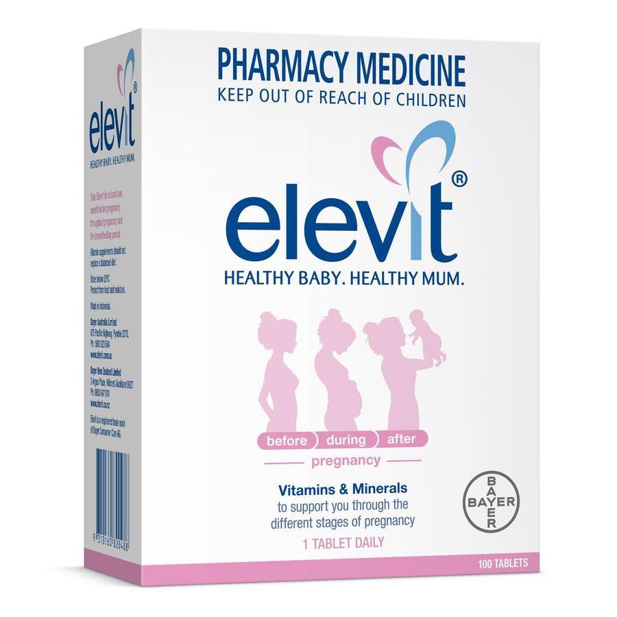 Viên Elevit Vitamin tổng hợp cho bà bầu