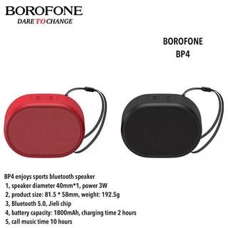 [Mã ELFLASH5 giảm 20K đơn 50K] Loa sport mini bluetooth Borofone Bp4 - Chính hãng bảo hành toàn quốc 6 tháng