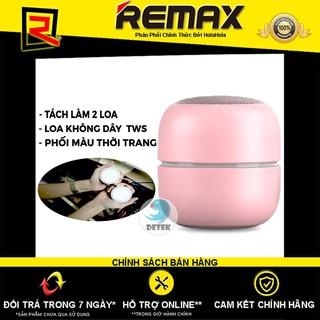 Loa Bluetooth True Wireless (TWS) Remax Proda Dots PD-S200 (Hồng + Hồng)