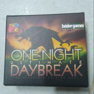 Ma sói one night daybreak ( đã bọc bài )