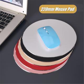 Tấm lót chuột máy tính hình tròn bằng hợp kim nhôm chống thấm nước