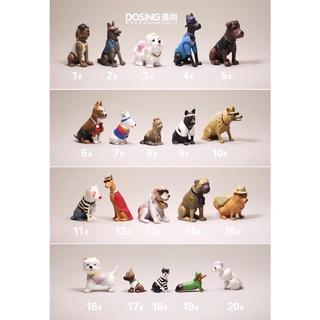 Mô hình chú chó đồ chơi xinh xắn đáng yêu