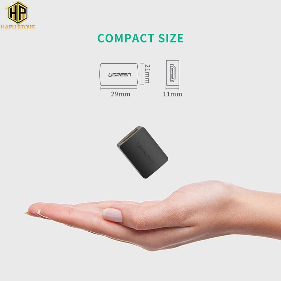 Đầu nối HDMI âm - âm Ugreen 20107 chính hãng - Hapustore
