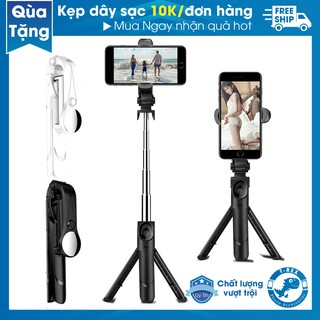 Gậy Chụp Ảnh Tự Sướng Selfie, Tripod XT09S Kết Nối Bluetooth (Có Gương)