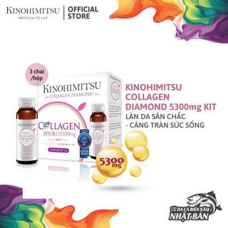 Nước Uống Đẹp Da Bổ Sung Collagen Kinohimitsu Diamond 5300 Hộp 3 chai thumbnail