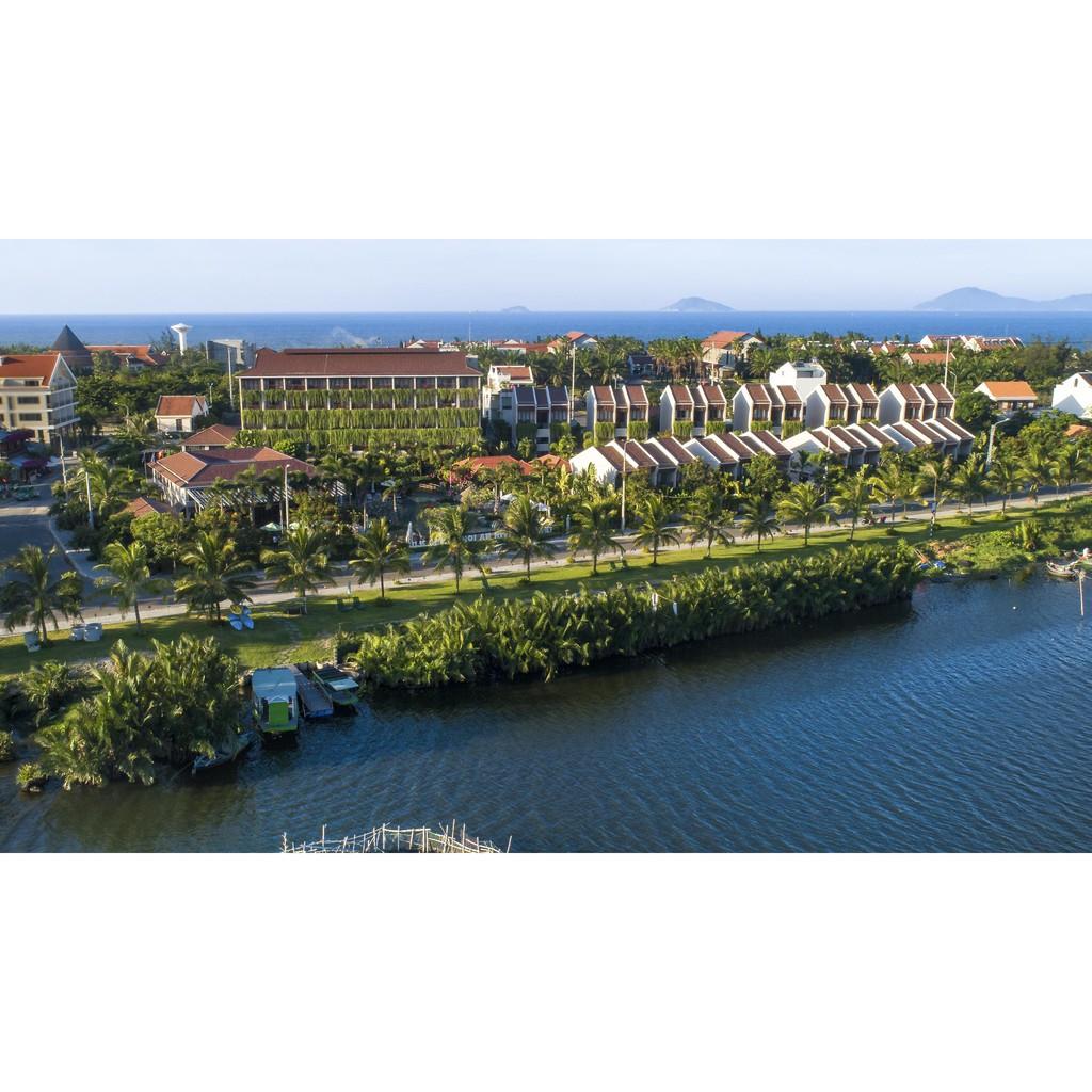 Voucher 3N2Đ Villa 2 tầng Premium Suite view Sông ở Hội An