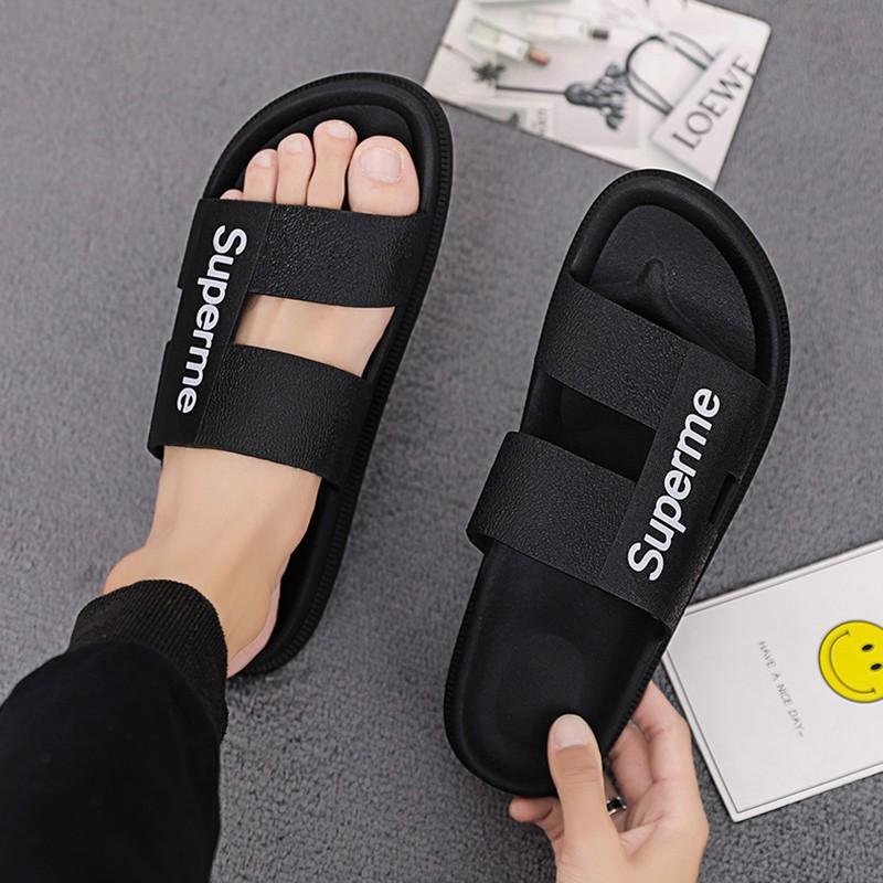 [ẢNH THẬT] Giày cao gót sandal 7 phân quai bản đen SD03