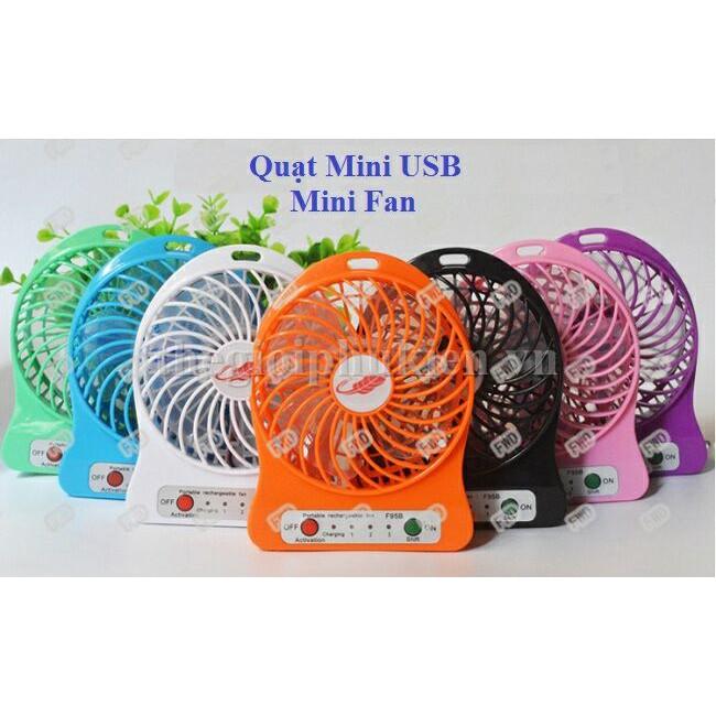 Quạt tích điện mini - 3610827 , 1198239487 , 322_1198239487 , 32000 , -Quat-tich-dien-mini-322_1198239487 , shopee.vn ,  Quạt tích điện mini