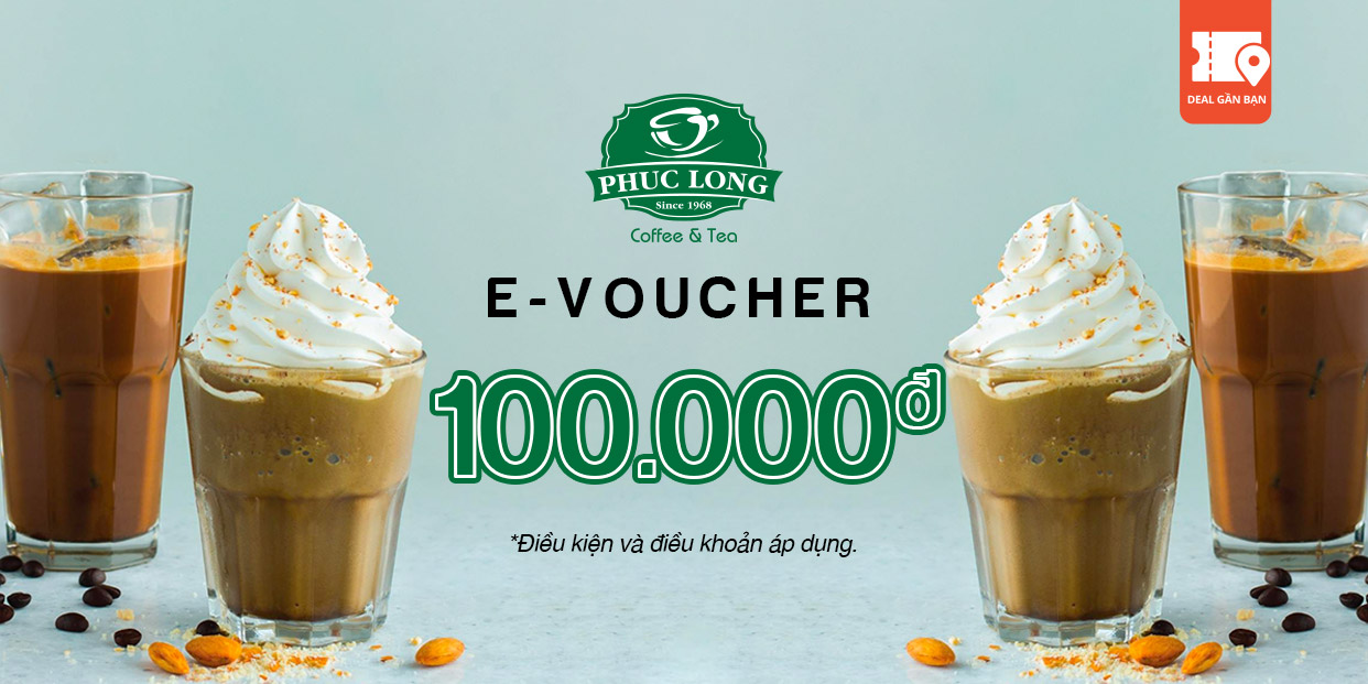 E-Voucher Phúc Long 100.000