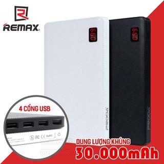 Pin sạc dự phòng Remax Proda Notebook 30000mah 4 cổng USB