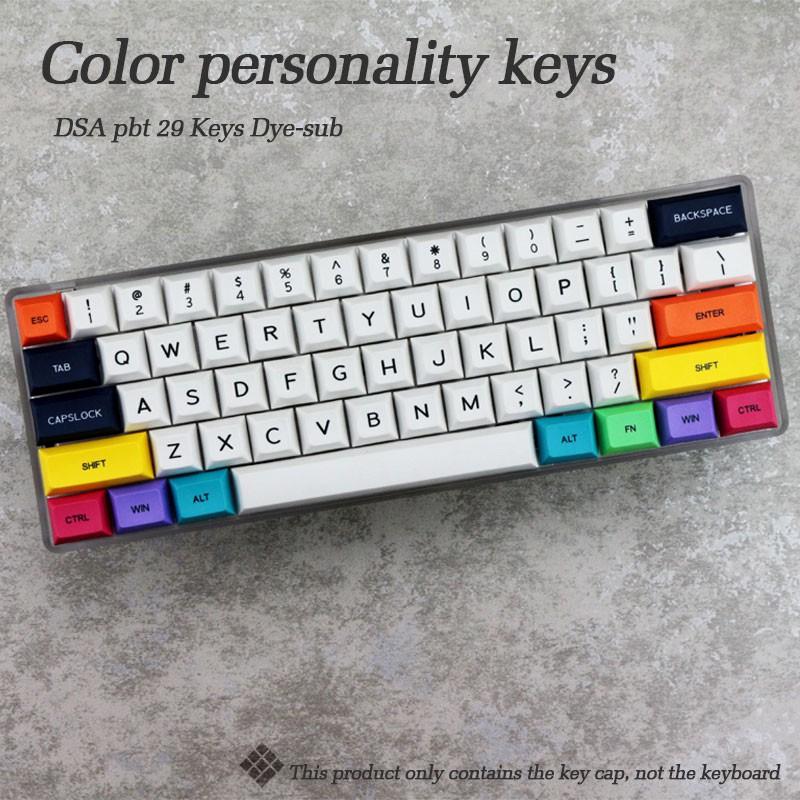 Set Keycap DSA PBT Modifier