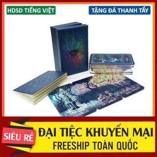 [FREESHIP] Bài Tarot Prisma Chuẩn Quốc Tế Kèm Hướng Dẫn Tiếng Việt