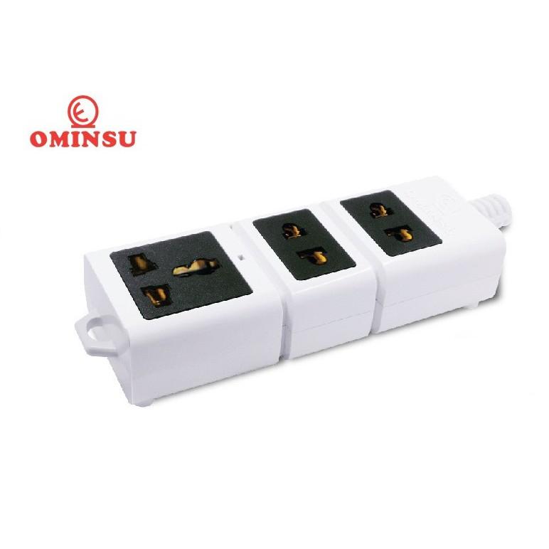 Ổ Cắm Điện Đa Năng không dây siêu tải 6500W Ominsu S6500T