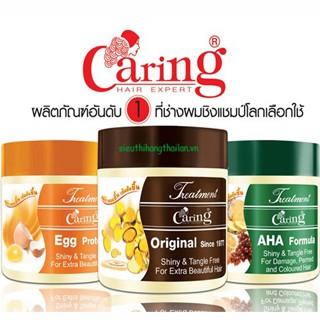 Kem ủ tóc Caring Hair Treatment Wax 500ml - Thái Lan