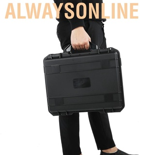 Alwaysonline Hand-held Ballhead Stabilizer Waterproof Anti-explosion Storage Bag Carrying Case for ZHIYUN Weebill S