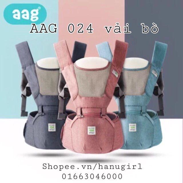 Địu ngồi AAG Cho Bé Phiên Bản 2018 Mã Số 019, 024, 021
